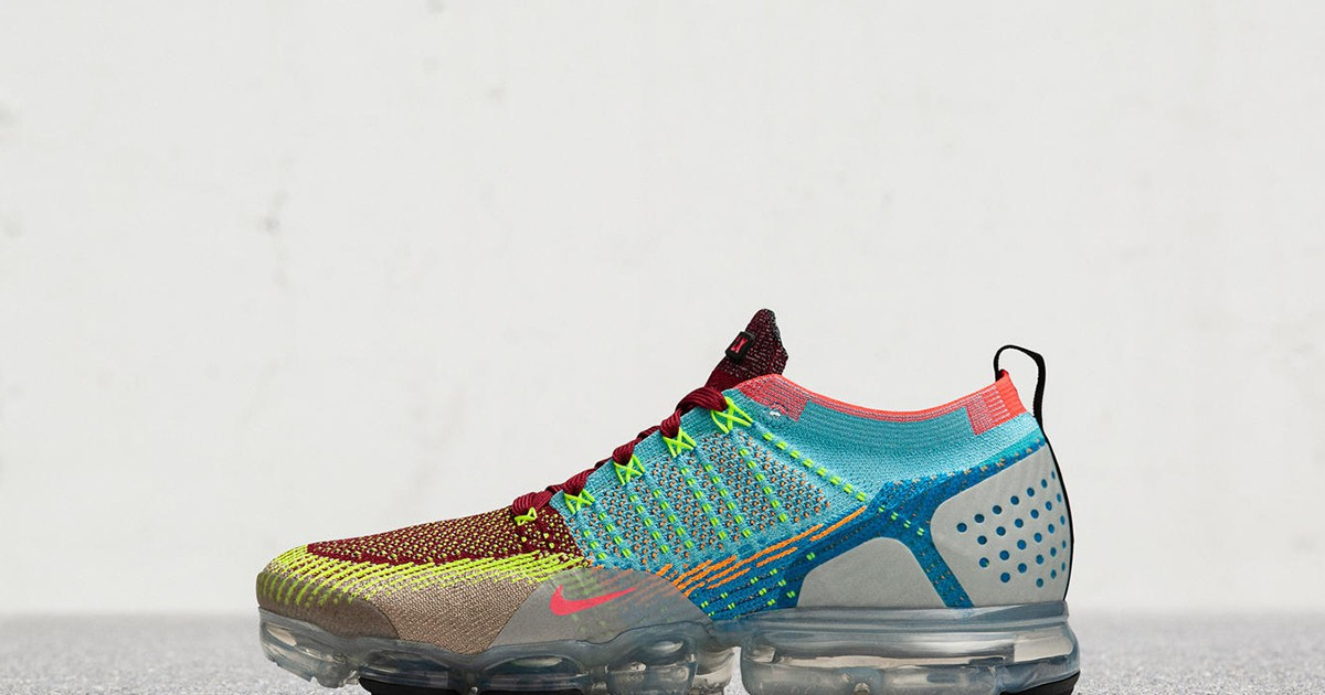 Photo of Nike's One-of-a-Kind VaporMax 2 Random Is Made From Leftover Flyknit Yarn