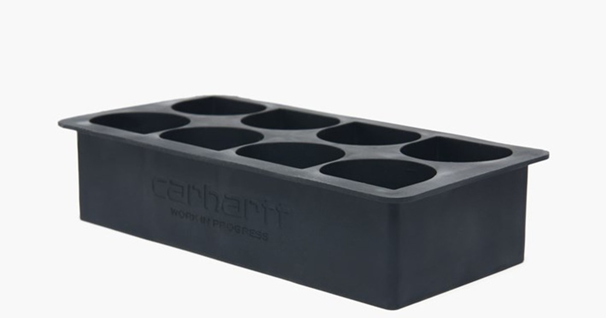 Photo of Add Some Logo Steez to Your Beverages With This Carhartt WIP Ice Tray
