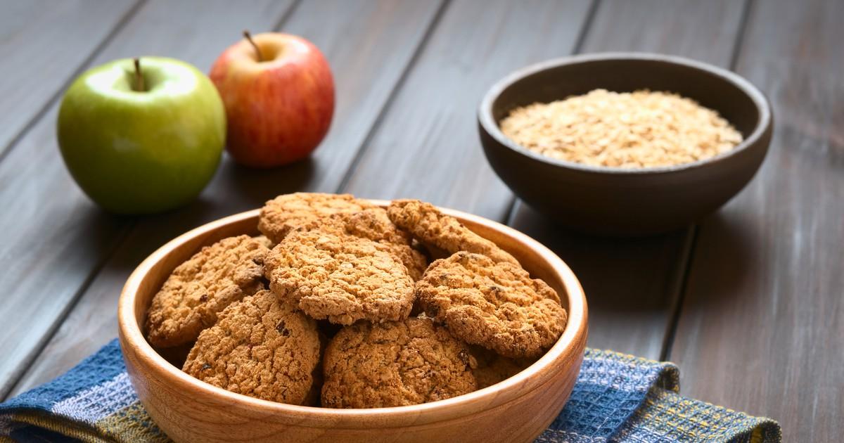 Фото Яблочное печенье с корицей