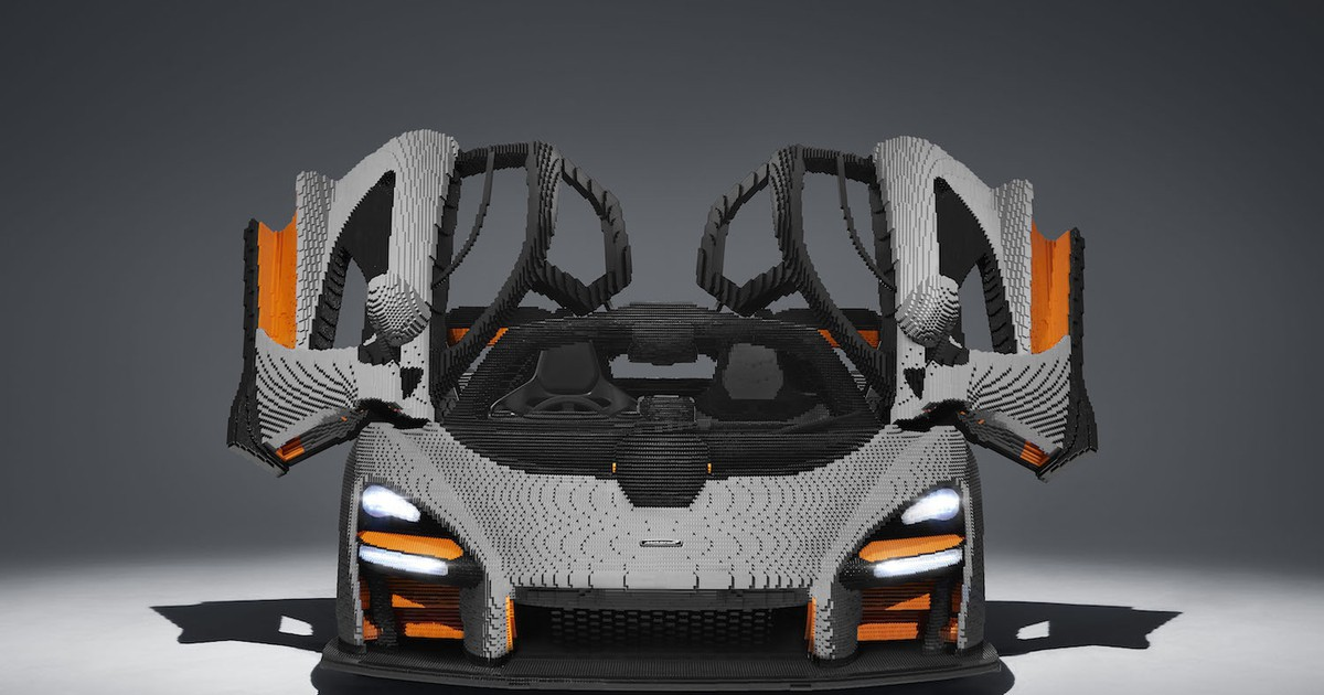 Photo of LEGO Built a Full-Size Drivable McLaren Senna Using 500,000 Bricks