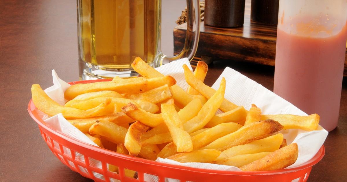 Фото Домашний картофель фри