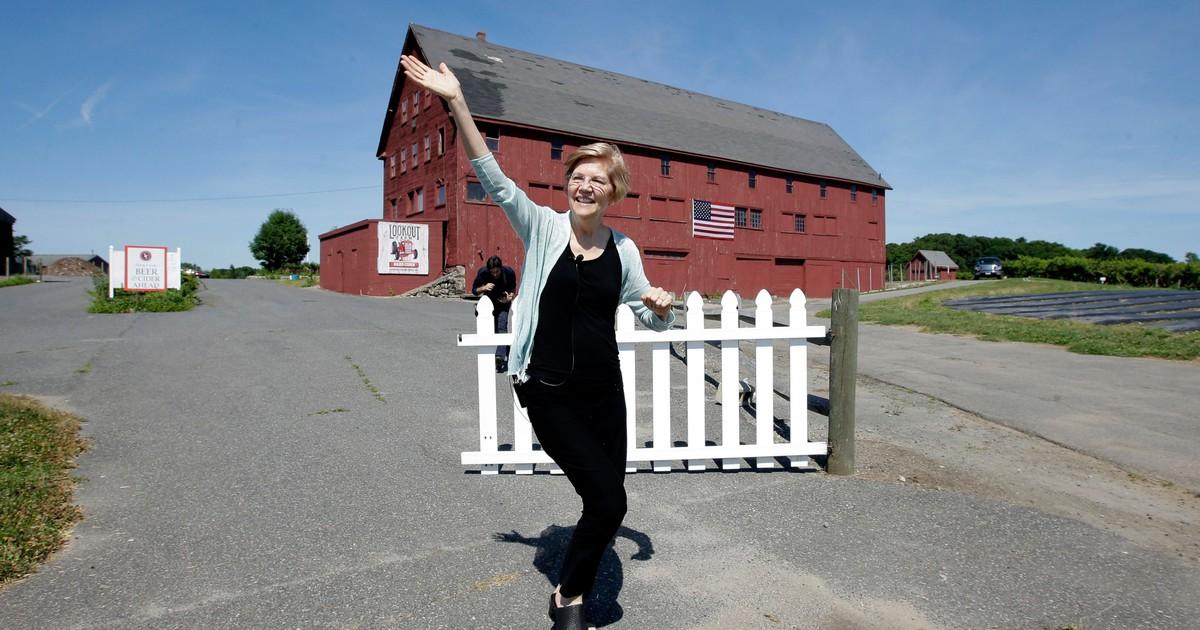 Photo of Elizabeth Warren brings class warfare back to the prairie