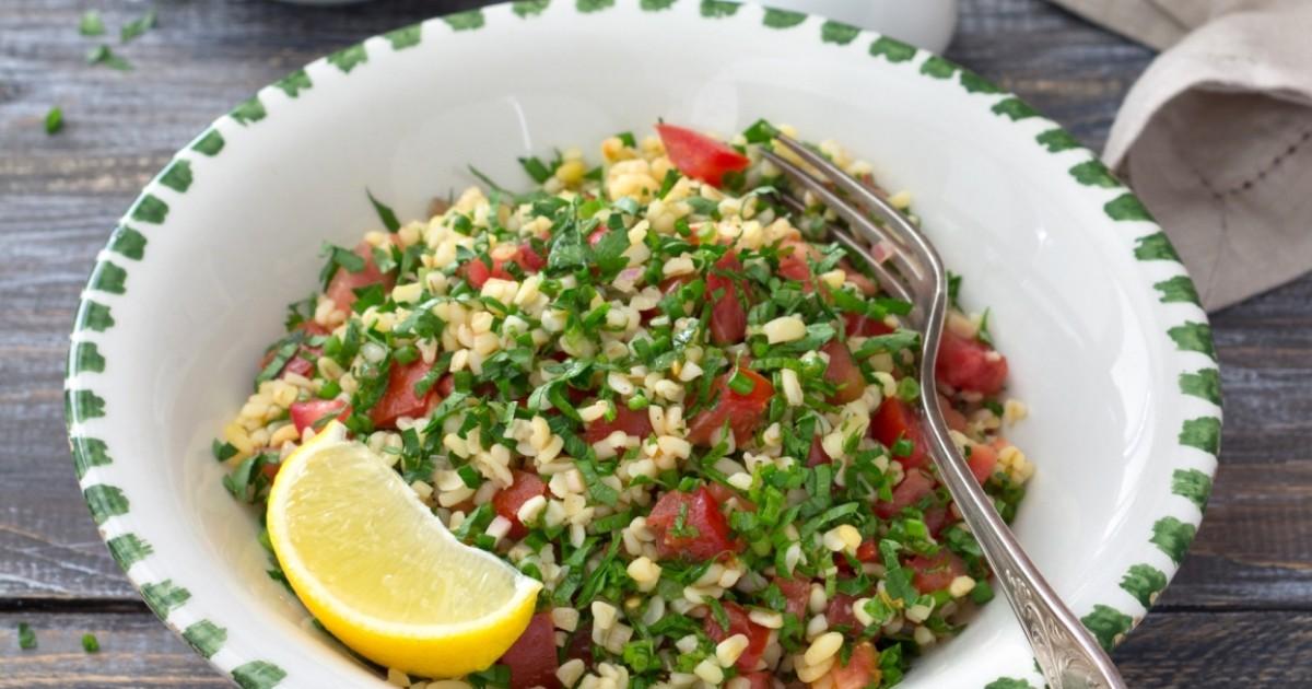 """Фото Рецепт приготовления салата """"Табуле"""""""