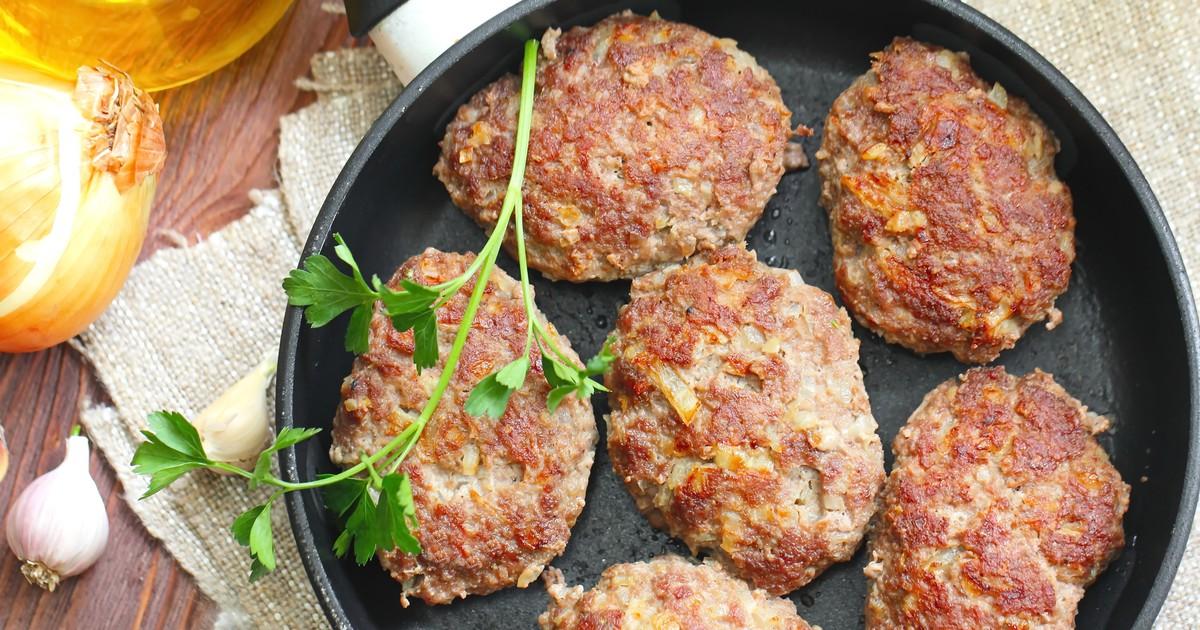 Фото Котлеты из говядины с овощами
