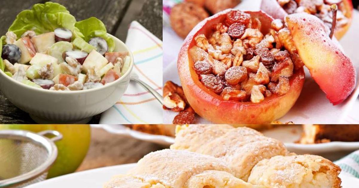 Фото 3 удачных рецепта с яблоками