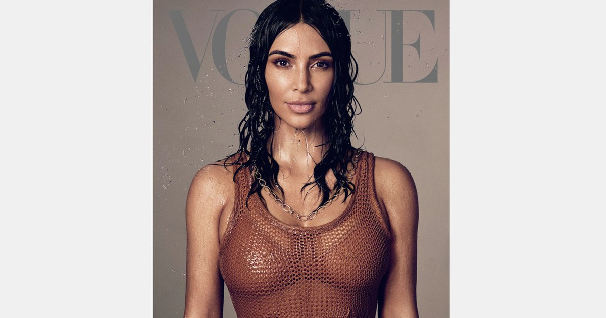 Photo of Kim Kardashian Covers 'Vogue' & Confirms She's Studying to Become a Lawyer