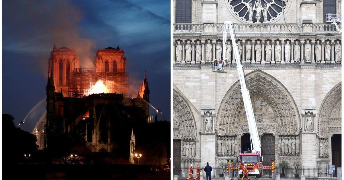 Фото Почему не тушили с воздуха? Вопросы искусствоведу о пожаре в Нотр-Даме