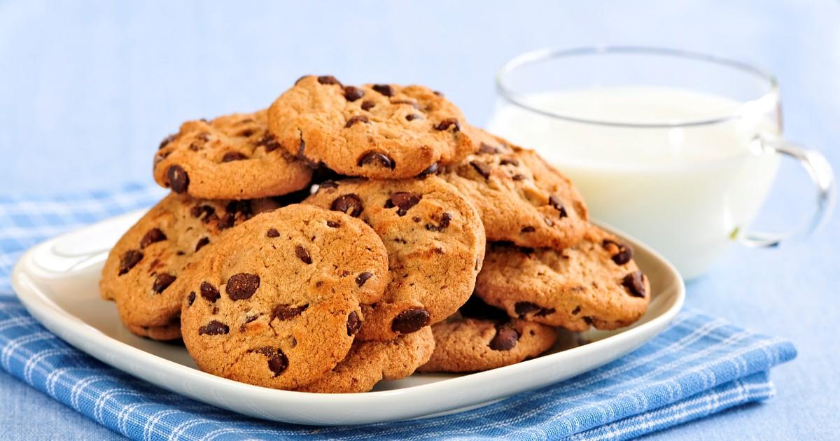 Фото Вкуснейшее печенье с шоколадом
