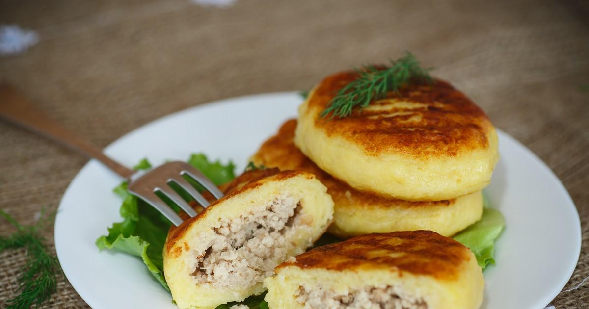 Фото Картофельные зразы с мясом