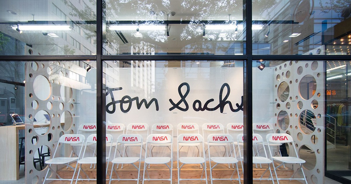 Photo of Here's a Look Inside Tom Sachs' BEAMS Pop-Up Shop