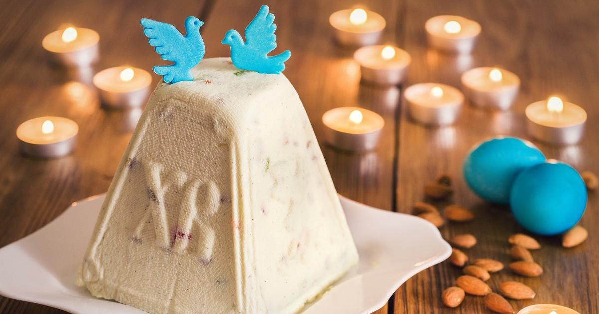 Фото Домашняя сырная пасха