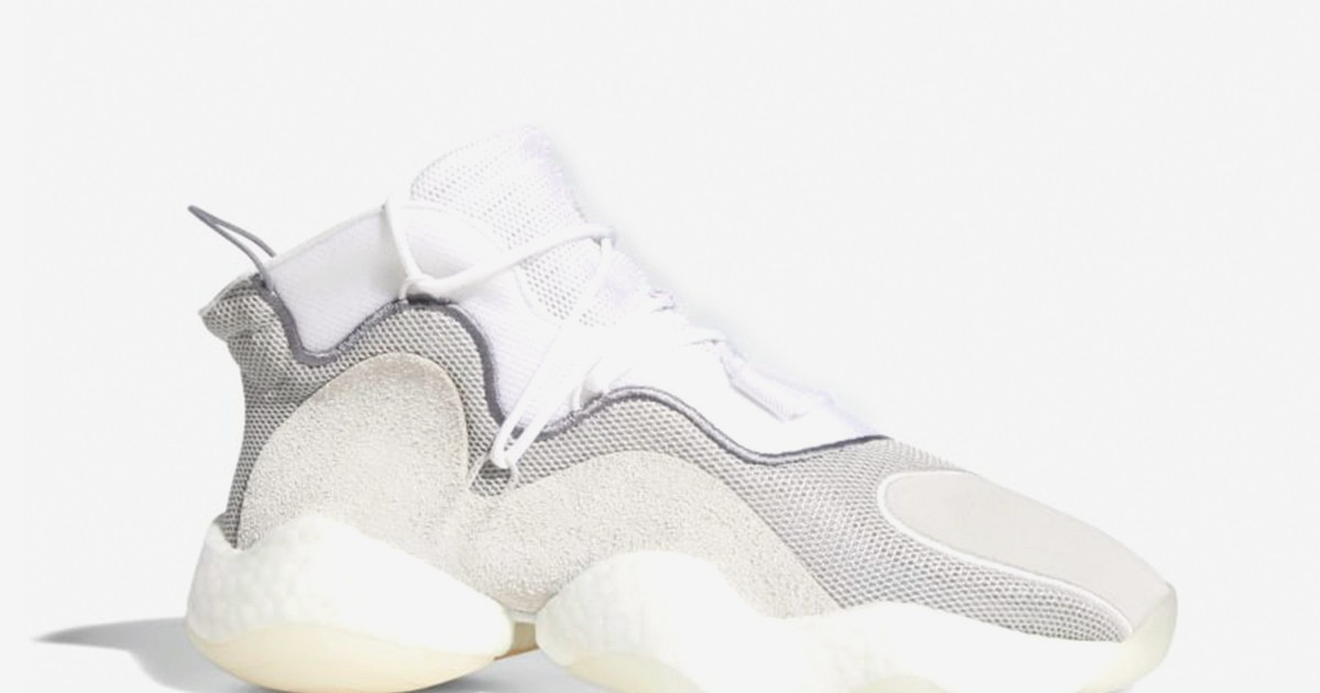 Photo of adidas' Crazy BYW Drops in a Clean White Summer Colorway
