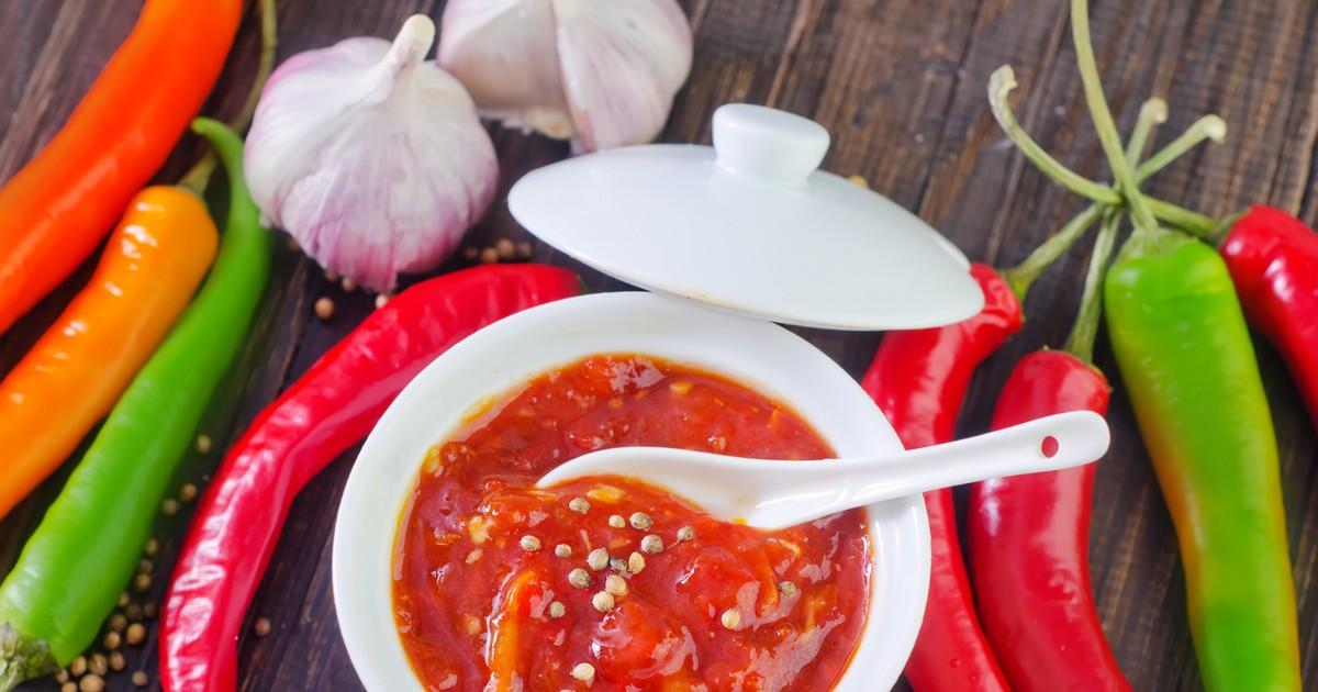 Фото Остро-сладкий соус чили