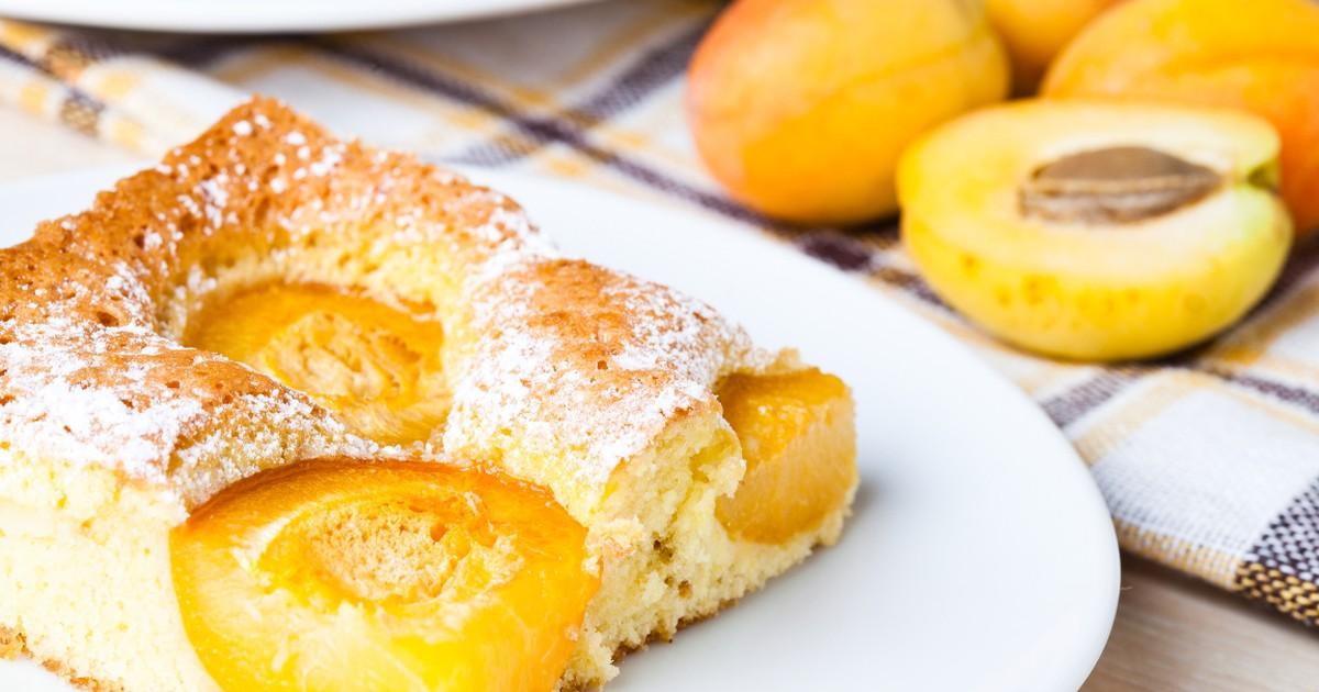 Фото Восхитительный абрикосовый пирог