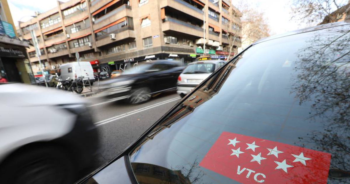 Photo of Los VTC sólo podrán circular 16 horas al día en la capital