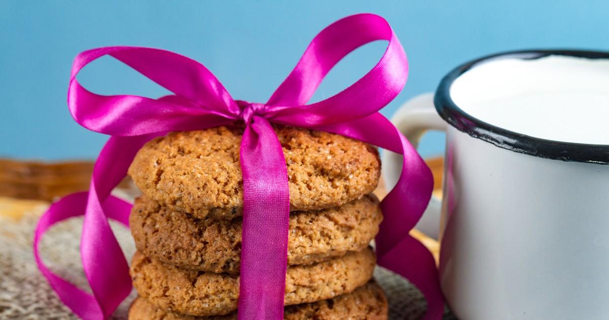 Фото Вкуснейшее овсяное печенье