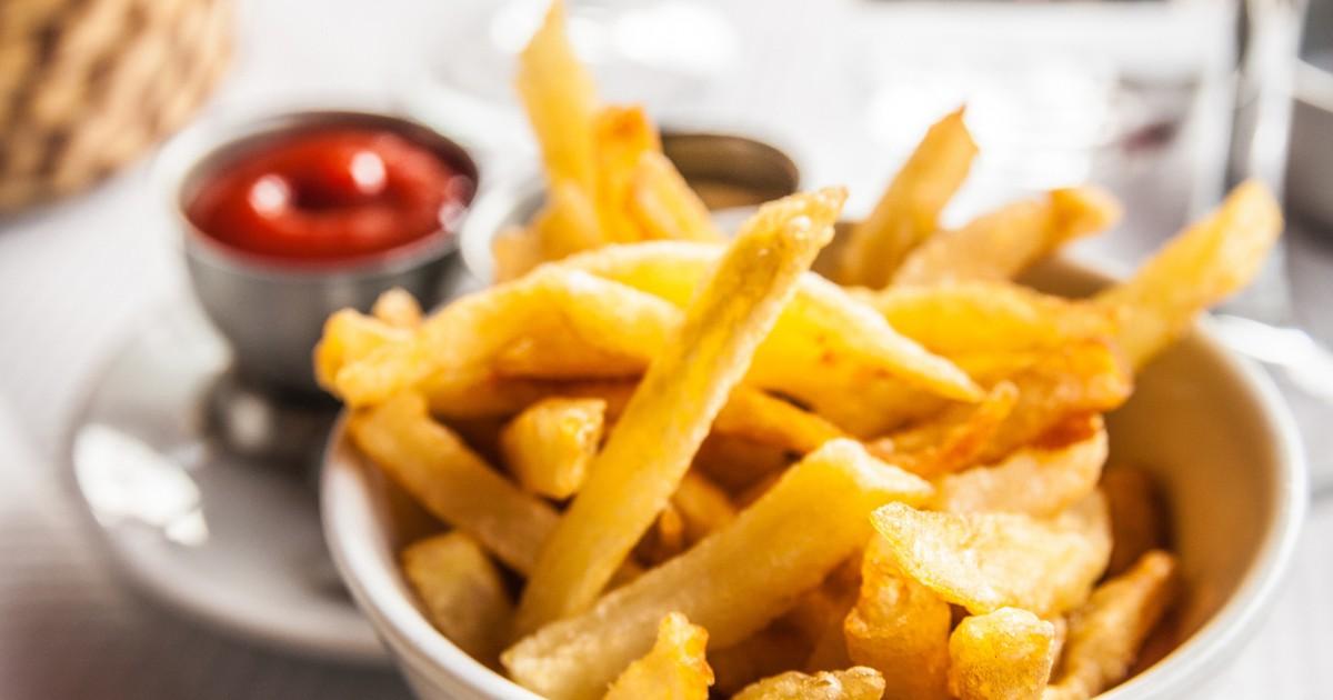 Фото Аппетитный картофель фри в духовке