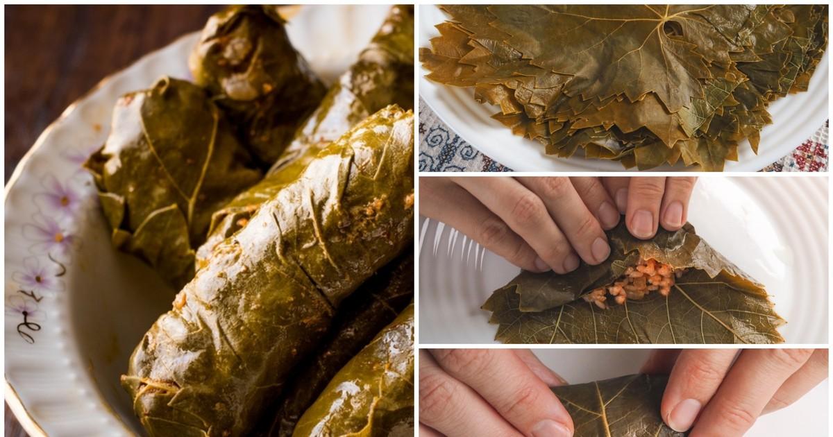 Фото Долма по-арабски: пошаговый фото рецепт