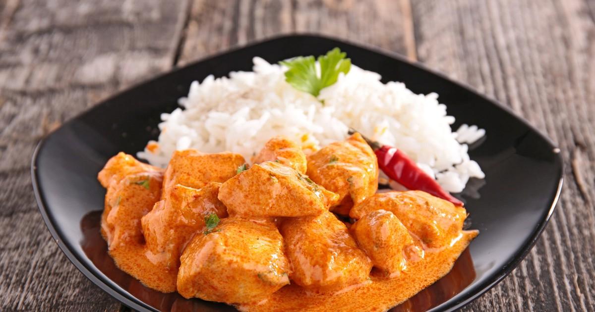 Фото Аппетитная курица в пряном соусе