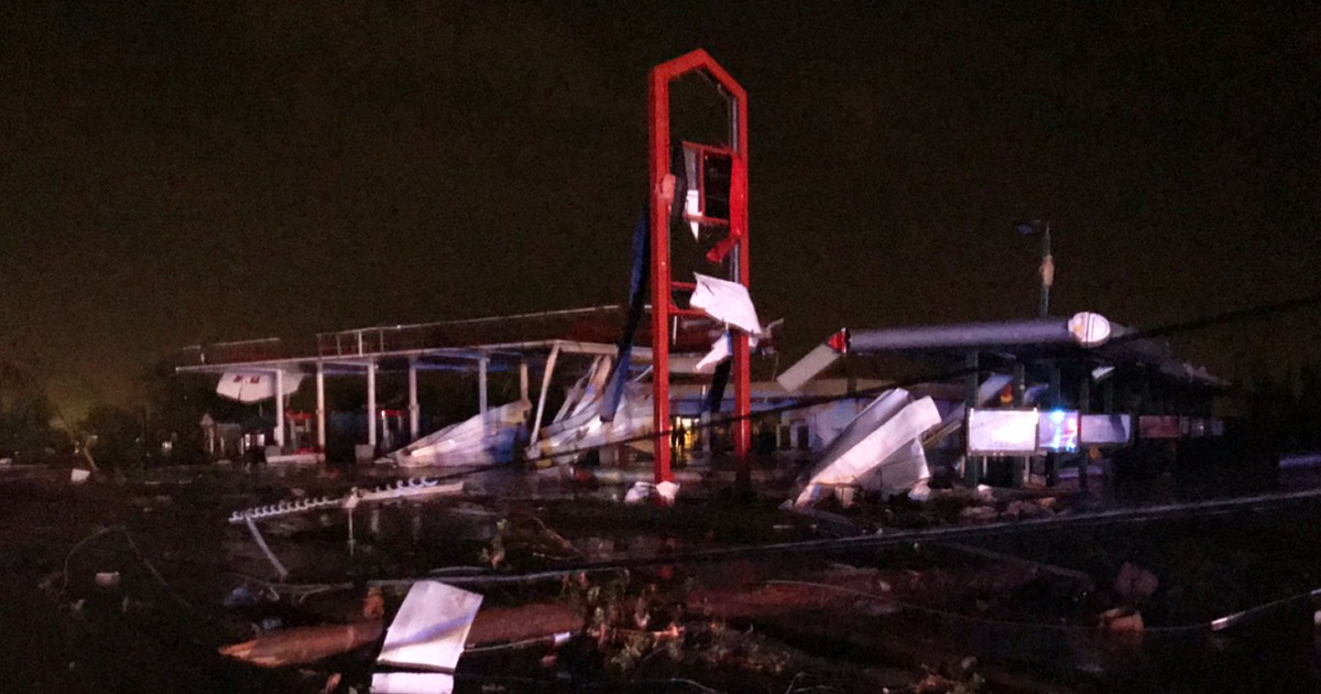 Photo of Tornado in Jefferson City, Mo., may have caused 'catastrophic damage': reports