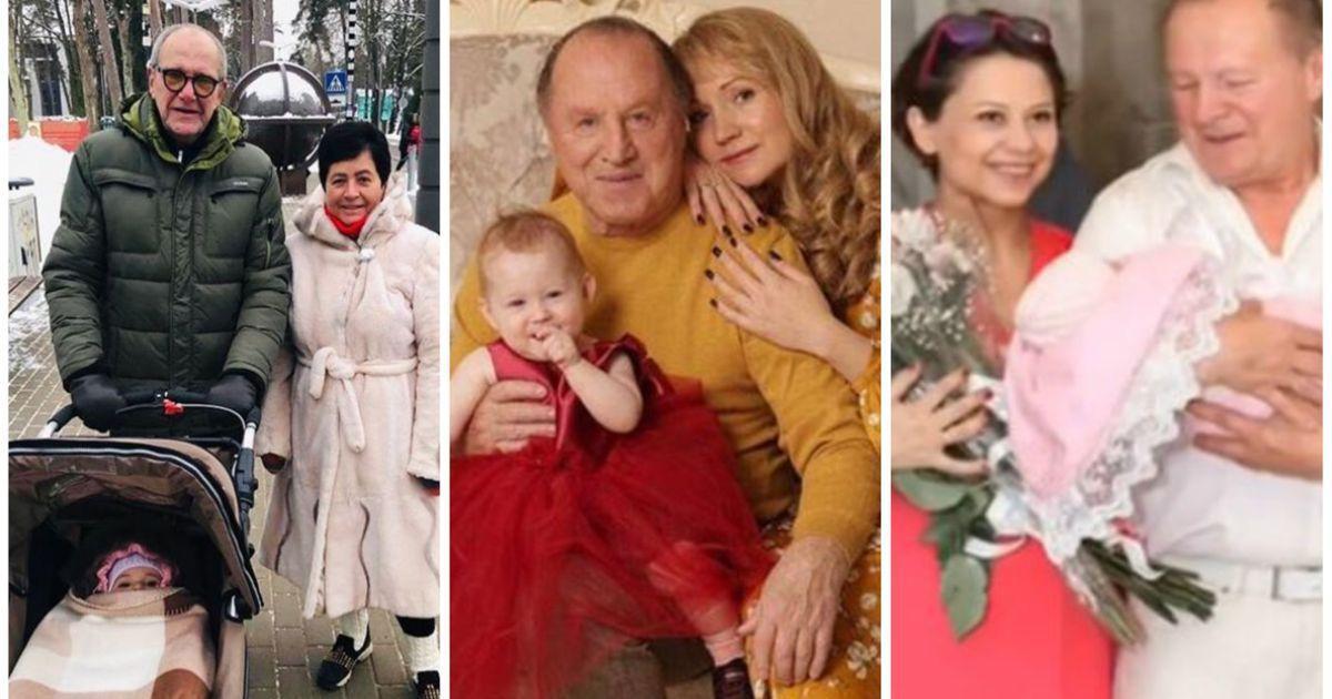 """Фото """"Старики покупают детей"""". Как унижают звезд, ставших папами после 60"""