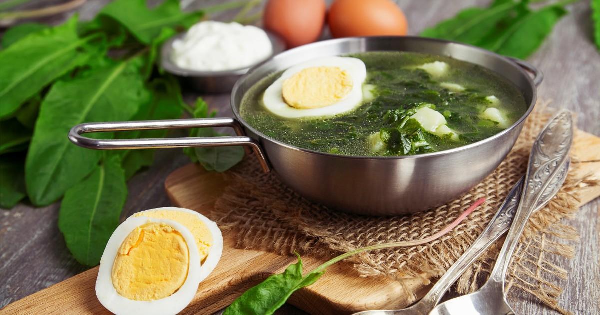 Фото Вкуснейший щавелевый суп
