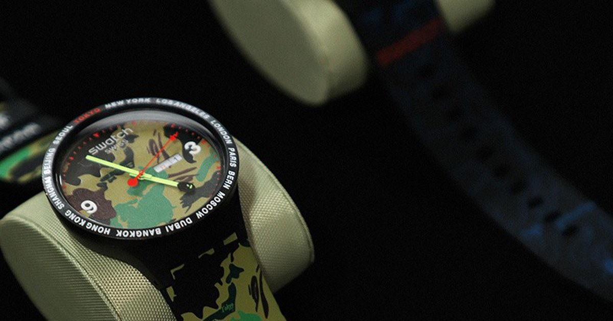 Photo of Swatch & BAPE Launch New BIG BOLD Collaboration With Tokyo Events
