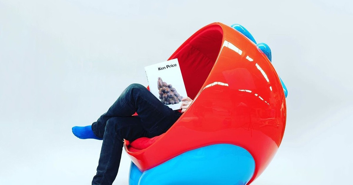 Photo of Case Studyo & Parra's Tomato Chair Is a Wild Piece of Furniture