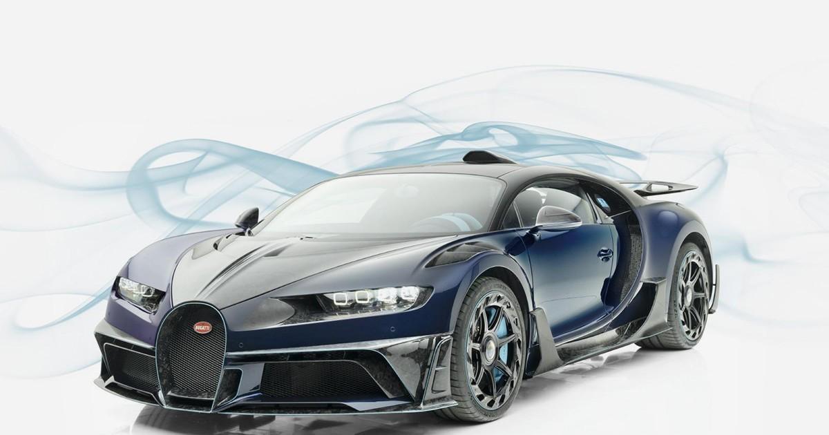 Photo of Mansory Brings Carbon Fiber & Custom Interior to the Bugatti Chiron