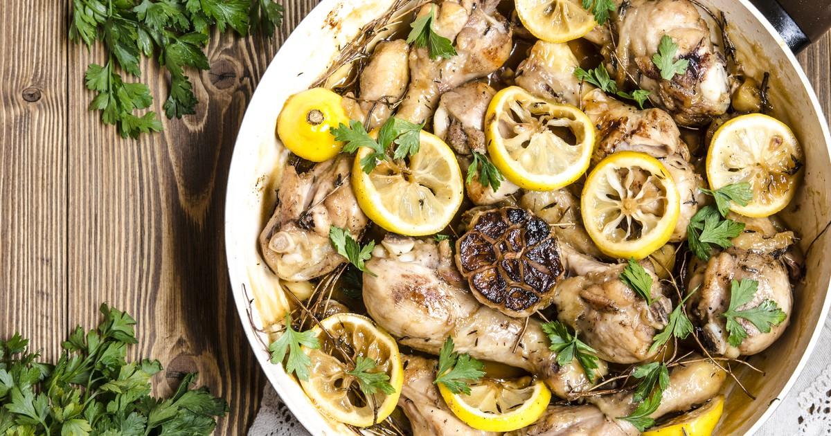 Фото Курица с лимоном и мёдом по рецепту Гордона Рамзи