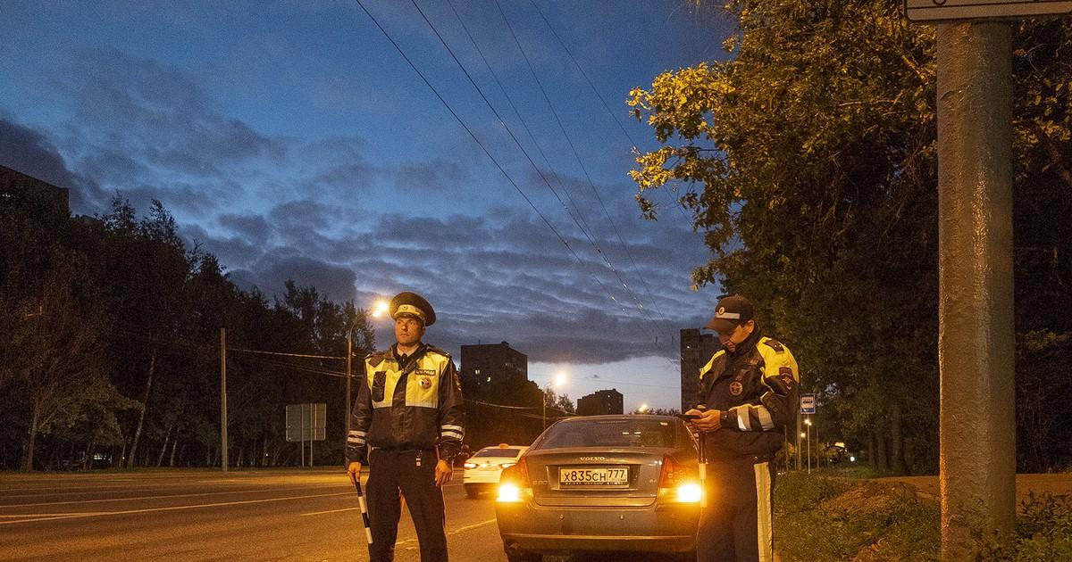 Фото Демарш московской полиции
