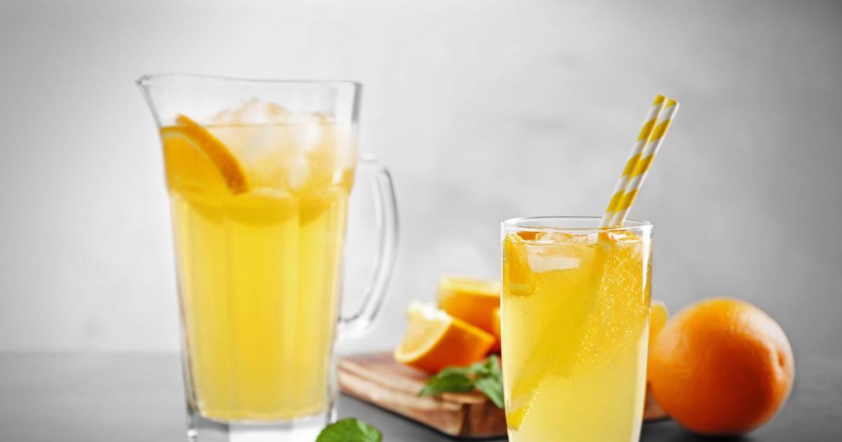 Фото Освежающий апельсиновый лимонад