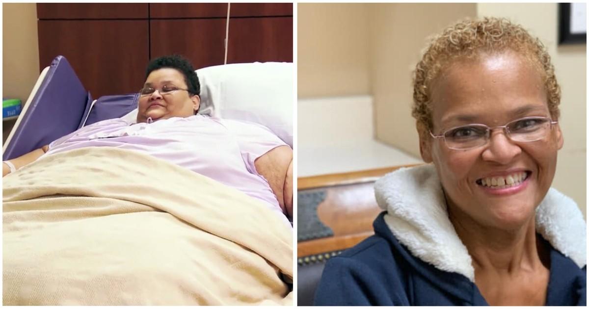 Фото Успешный пациент. 270-килограммовая лежачая женщина смогла сбросить 200 кг