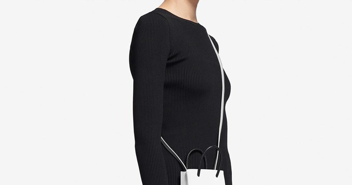Photo of Balenciaga's New Phone Holder Looks Just Like a Shopping Bag