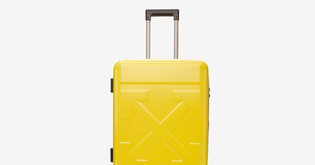 """Photo of Off-White™ Drops New Range of $1,030 Carry-On Suitcases """"FOR TRAVEL"""""""