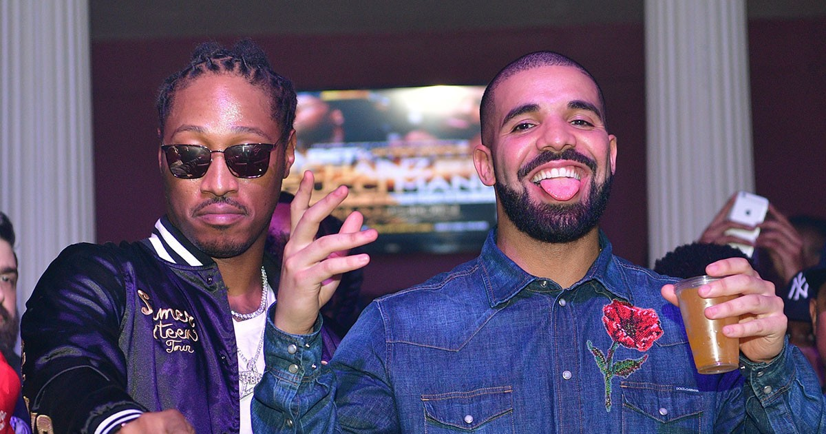 """Photo of Listen to Leaked Drake & Future Track """"Big Mood"""" Before It Gets Taken Down"""