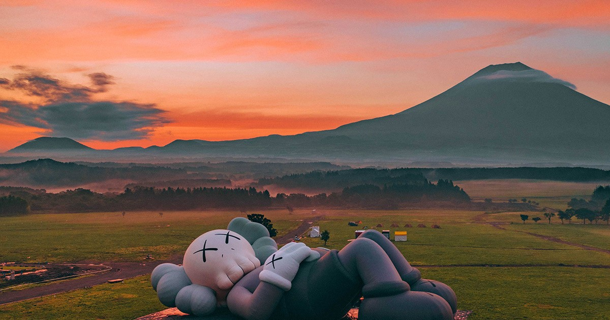 Photo of Get the Lowdown From the 'KAWS:HOLIDAY' x Herschel Supply Mt. Fuji Campout