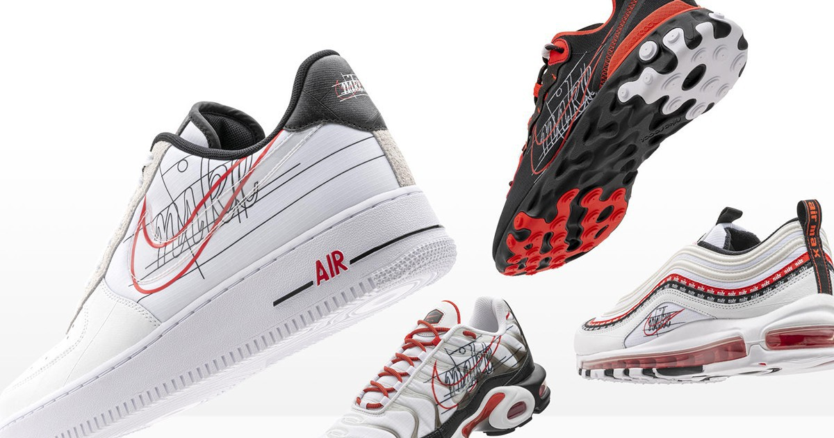 Photo of Nike Celebrates the Evolution of the Swoosh With New Sneaker Packs