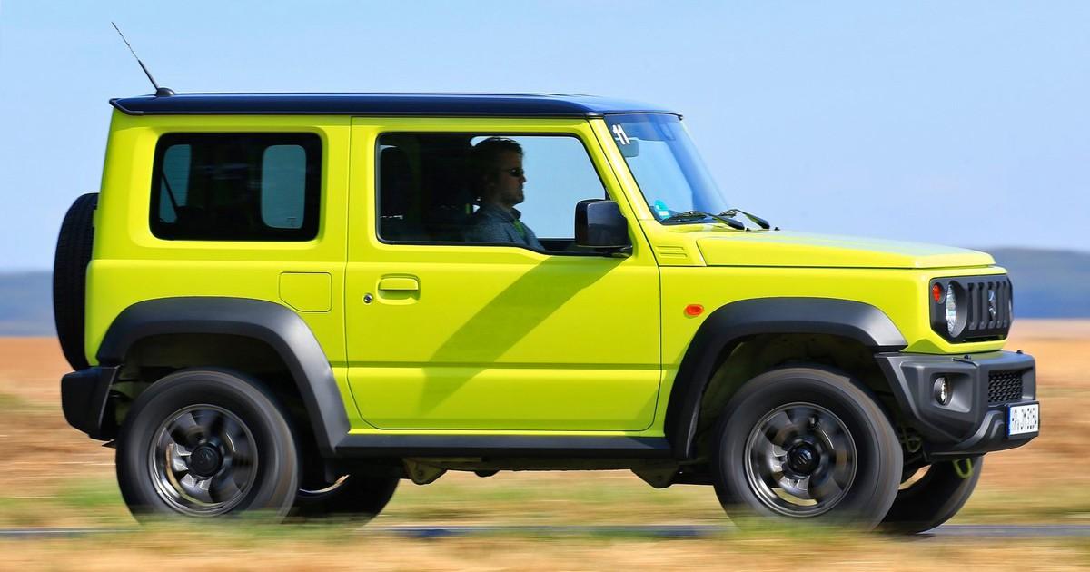 Фото Российская премьера: удаленький Suzuki Jimny
