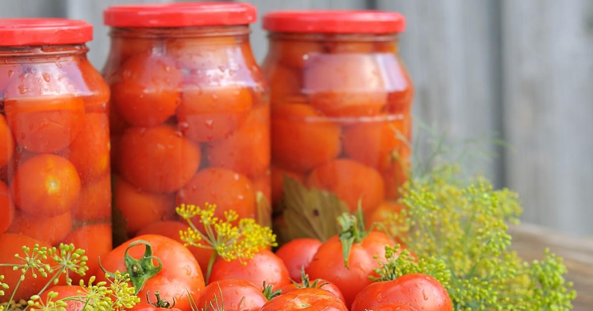 Фото Домашние маринованные помидоры
