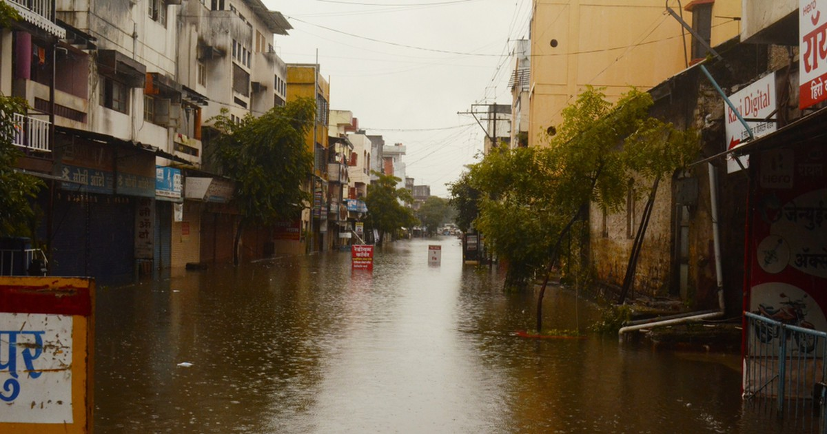 Фото В Индии муссоны унесли более 150 жизней