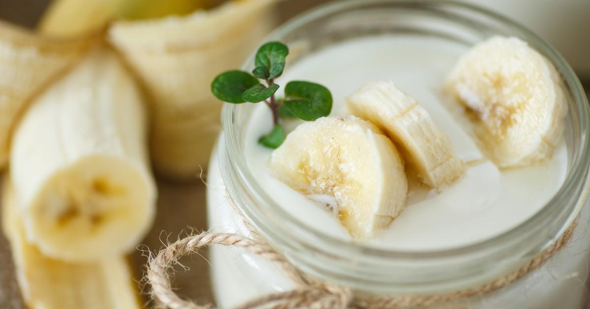 Фото Вкуснейший банановый йогурт