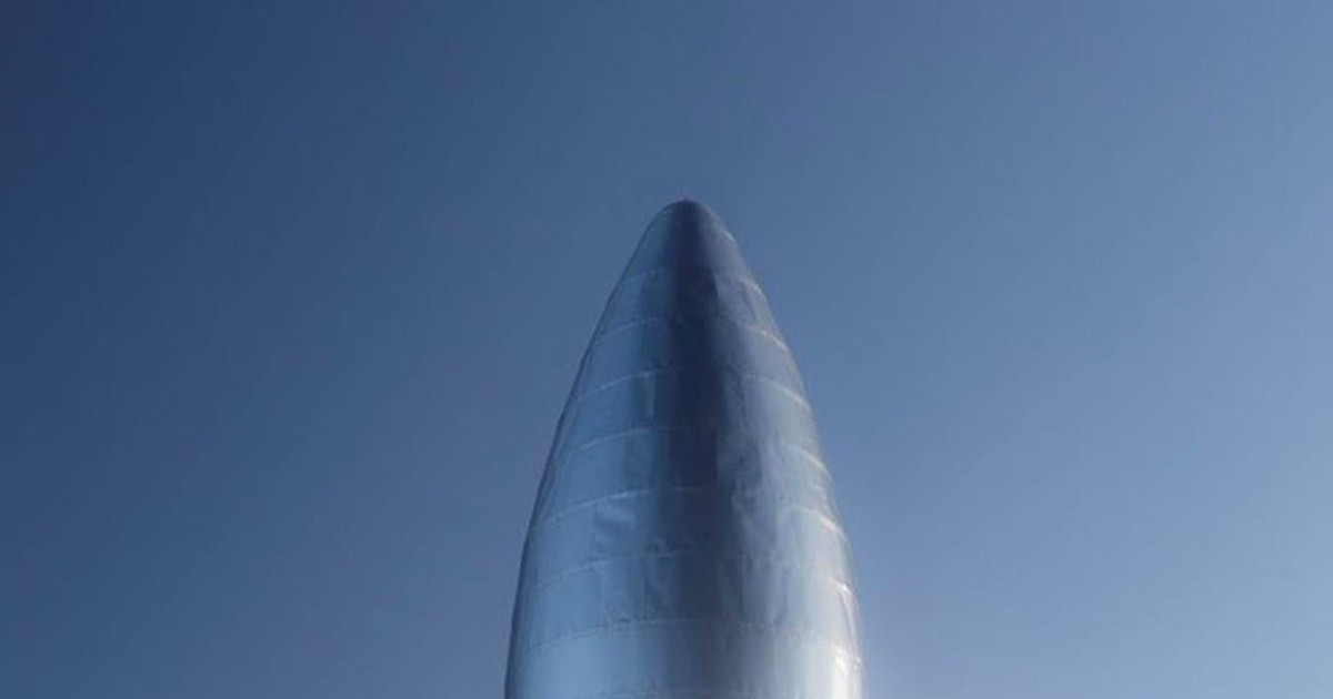 Photo of Amazing Video: SpaceX Starhopper test hop to a height of 150 meters