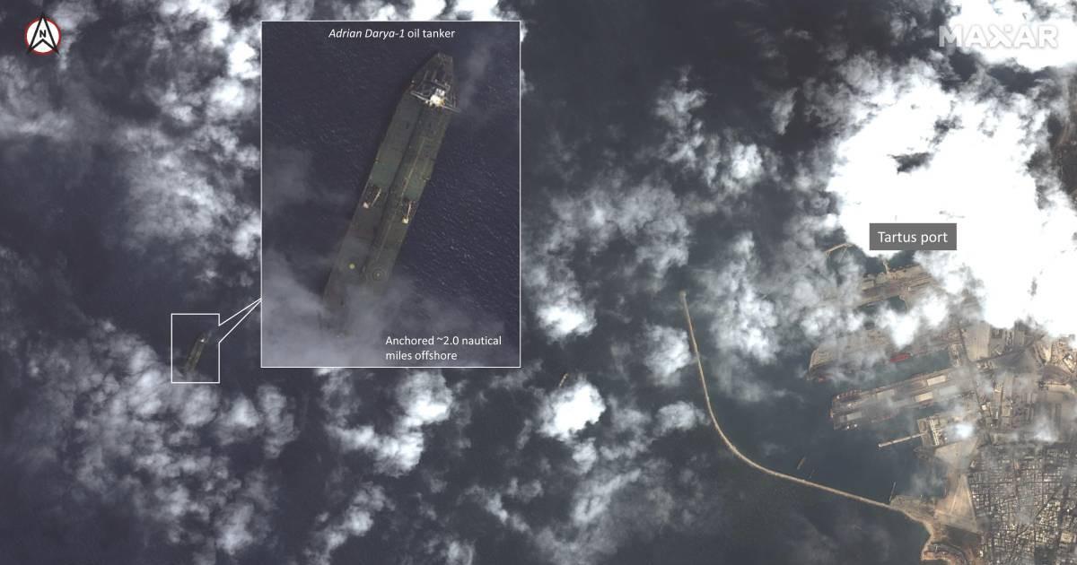 Photo of Detectado ante la costa de Siria el petrolero iraní liberado en Gibraltar