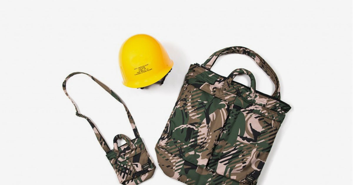 "Photo of PORTER Enlists Six Japanese Powerhouses for Its ""Helmet Bag Creation"" Capsule"