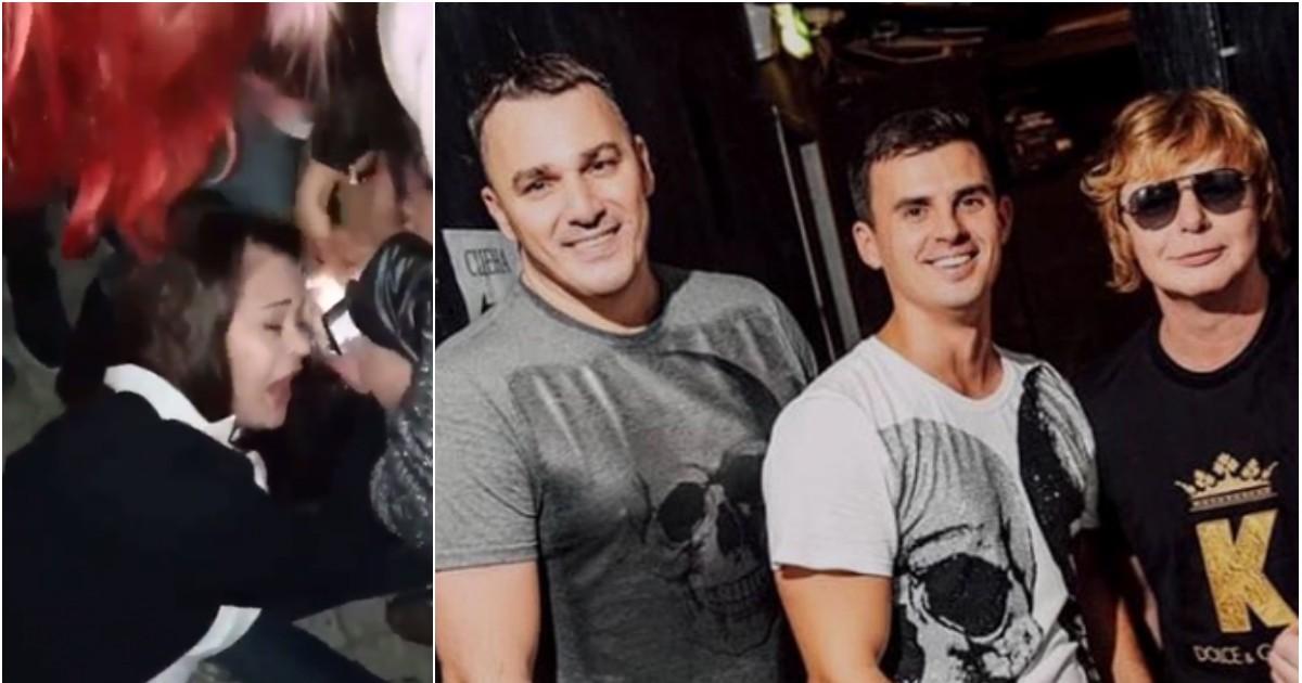 """Фото Фанаты """"Иванушек"""" устроили массовую драку на концерте из-за футболки"""