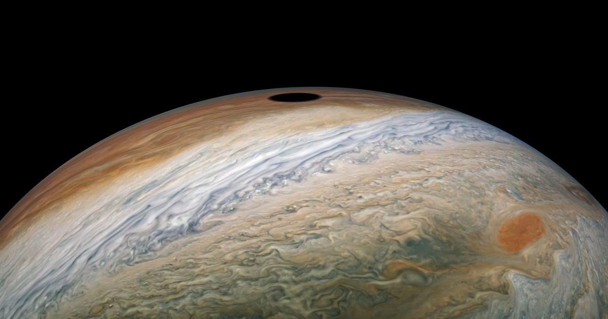 Photo of NASA's Juno orbiter has captured a solar eclipse on Jupiter