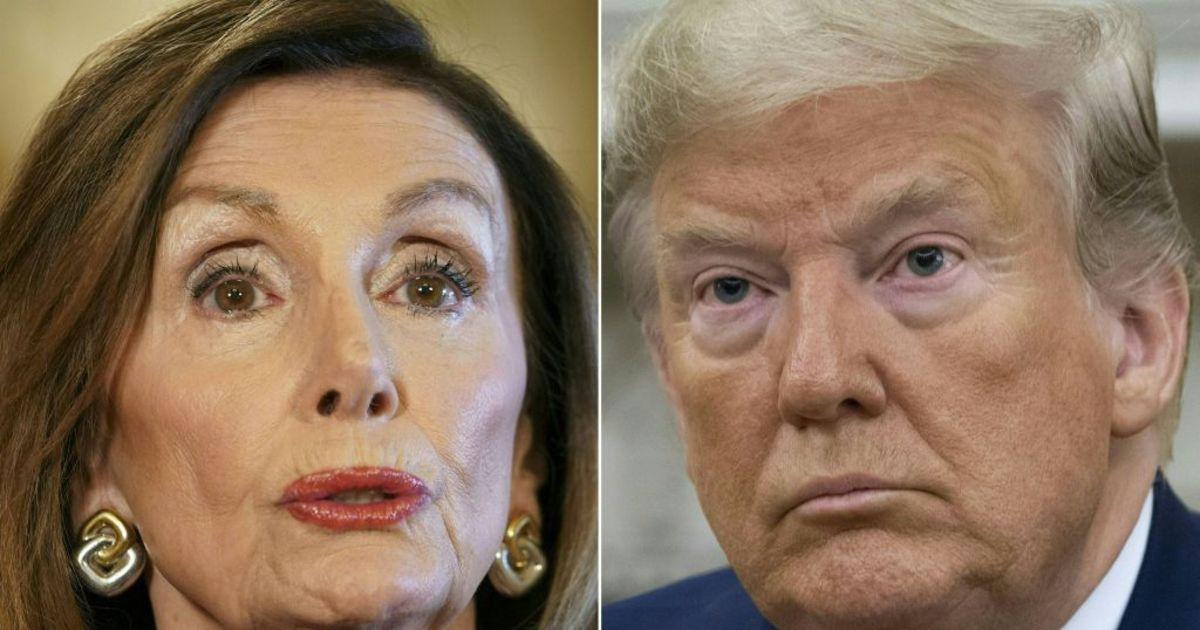 Photo of It's Trump VersusPelosi as Impeachment Brawl Erupts