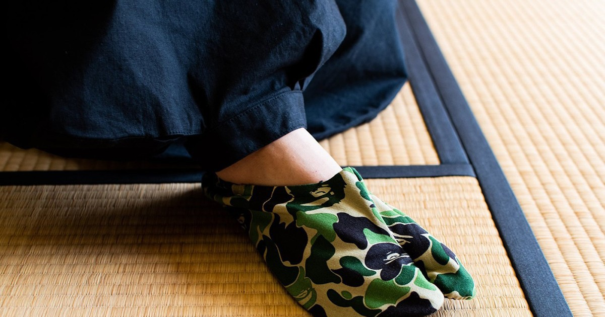 Photo of BAPE's ABC Camo Japanese Socks Are Perfect for Lounging Around the House