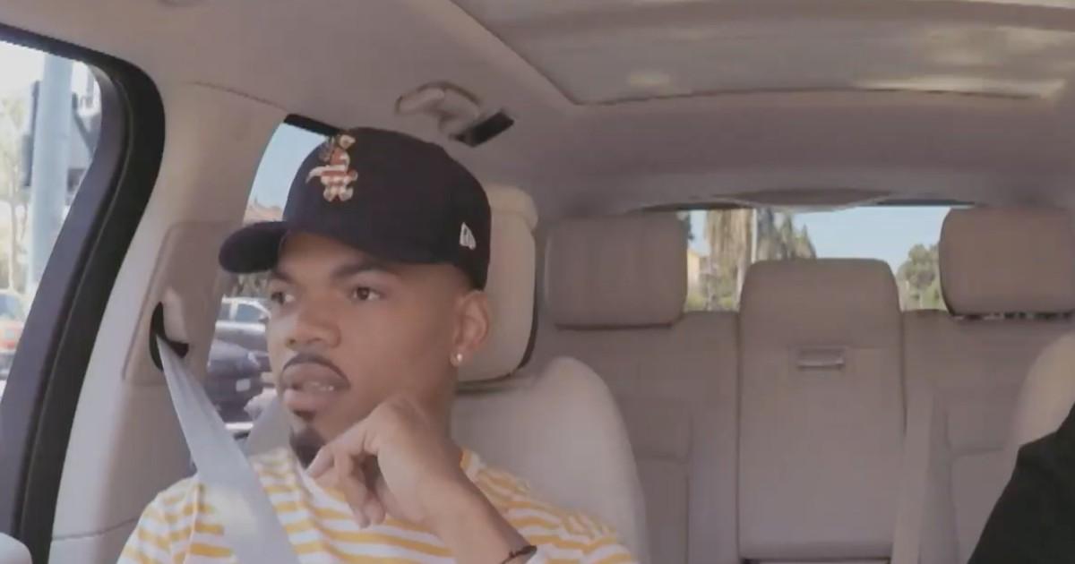Photo of Chance the Rapper Talks Obama Phone Calls, Tries Veggies on 'Carpool Karaoke'